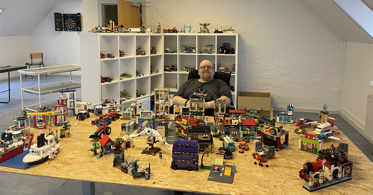 Allan er LEGO-nørd og affaldsminister